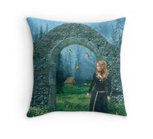 Waiting For The Day... Throw Pillow