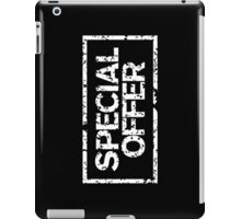 Special Offer (White) iPad Case/Skin