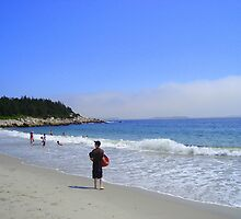 Crystal Crescent Beach, Sambro Nova Scotia Canada by Doreen