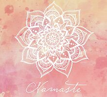 Namaste - Strawberry Quartz by CarlyMarie