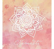 Namaste - Strawberry Quartz Photographic Print