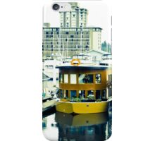 Boat houses in Vancouver iPhone Case/Skin