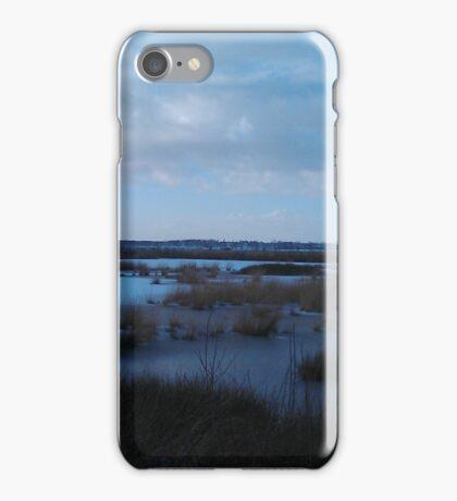 Blue Snow Fochteloerveen iPhone Case/Skin