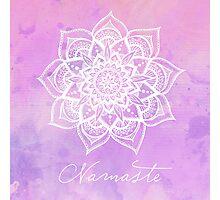 Namaste - Amethyst Photographic Print