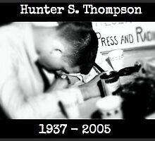 Hunter S. Thompson: Young & Drunk by clandestino