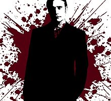 Hannibal - Splatter Series - Dr. Lecter by pithypenny