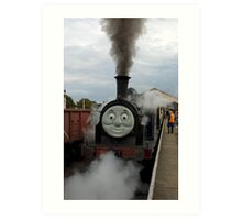 Steam Up Art Print