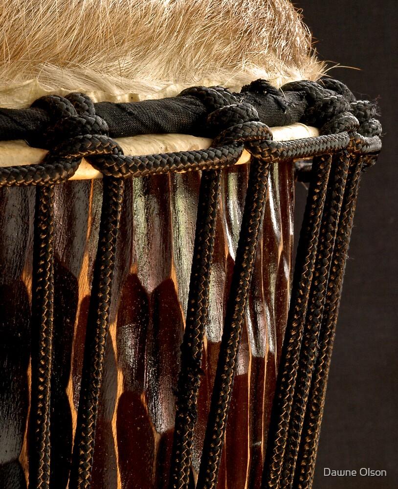 Djembe Drum by Dawne Olson