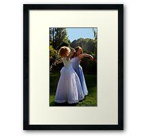 Gracefull Princesses Framed Print