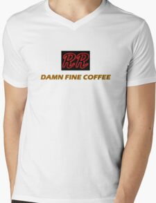 RR - Damn fine coffee Mens V-Neck T-Shirt