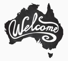 Welcome Australia Kids Tee