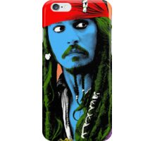 Captain Jack Sparrow Andy Warhol style Poster, Pop Art Big Digital Poster Portrait.  iPhone Case/Skin