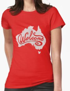 Welcome Australia - White T-Shirt
