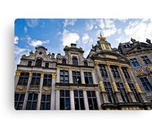 Guild Houses - Grand Place - Brussels, Belgium Canvas Print