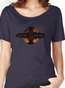 Time for some thrilling heroics Women's Relaxed Fit T-Shirt