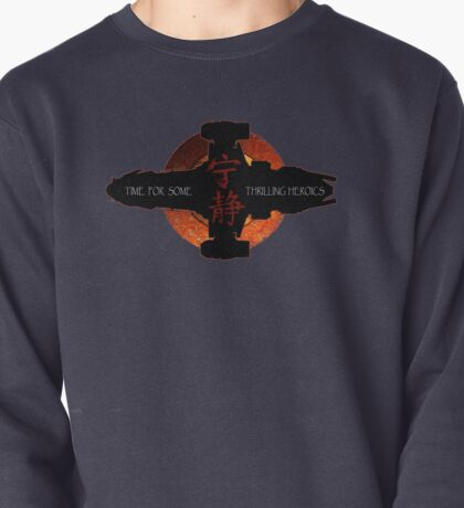 Time for some thrilling heroics Pullover