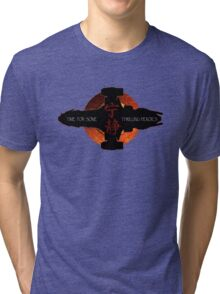 Time for some thrilling heroics Tri-blend T-Shirt