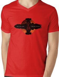 Time for some thrilling heroics Mens V-Neck T-Shirt