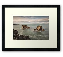 Ballycastle - Carved by the Sea Framed Print