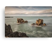 Ballycastle - Carved by the Sea Canvas Print