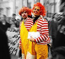 clowns by Filiz A