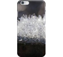 Hoar Frost on Rusted Post iPhone Case/Skin