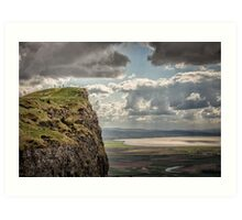Binevenagh - Peak Viewing Art Print
