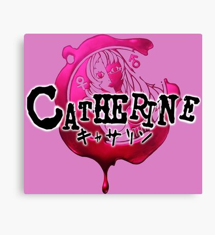 Catherine Canvas Print