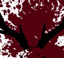 Hannibal - Splatter Series - This is My Design Sticker