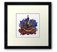 The Legend of Zelda Majora's Mask 3D Artwork #3 Full Cover Framed Print