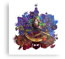 The Legend of Zelda Majora's Mask 3D Artwork #3 Full Cover Metal Print