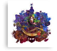 The Legend of Zelda Majora's Mask 3D Artwork #3 Full Cover Canvas Print
