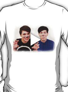 Dan & Phil YouTube Play Button T-Shirt