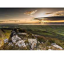 Sunset from Binevenagh Photographic Print