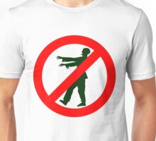 NO ZOMBIES Unisex T-Shirt