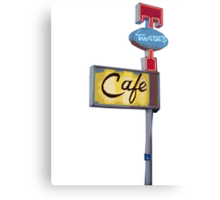 Twin Peaks - Double R Diner Canvas Print