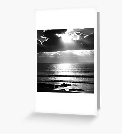 West Cork Sunset Greeting Card