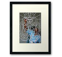Painting Buddha Framed Print