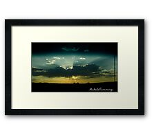 Driving Through Framed Print