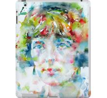 KATHERINE MANSFIELD - watercolor portrait iPad Case/Skin