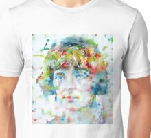 KATHERINE MANSFIELD - watercolor portrait Unisex T-Shirt