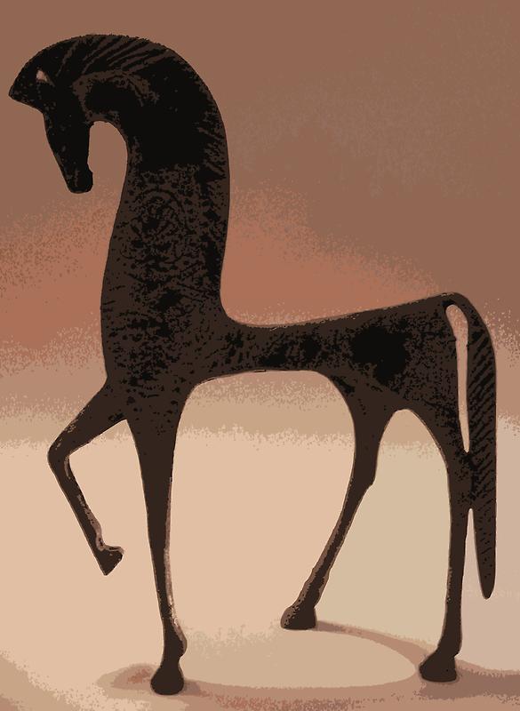 GREEK HORSE by earl ferguson