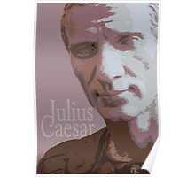 bust of caesar Poster