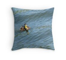 Duckie Throw Pillow
