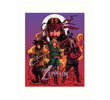 The Legend of Zeppelin Art Print