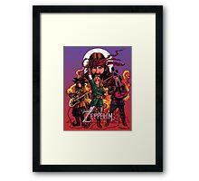 The Legend of Zeppelin Framed Print