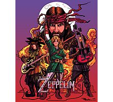The Legend of Zeppelin Photographic Print