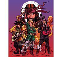 The Legend of Zeppelin Photographic Print
