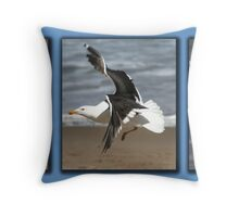 Runway 14 Left....Clear to Land Throw Pillow