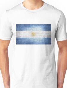 Argentina Flag Unisex T-Shirt